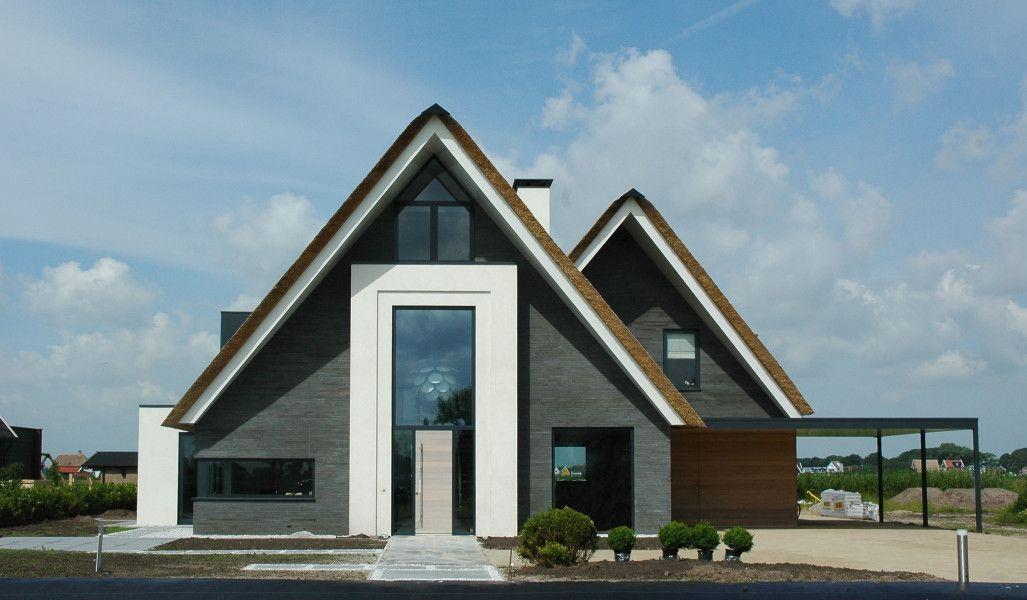 Een heel anders landhuis met een vleugje traditie in de vorm van