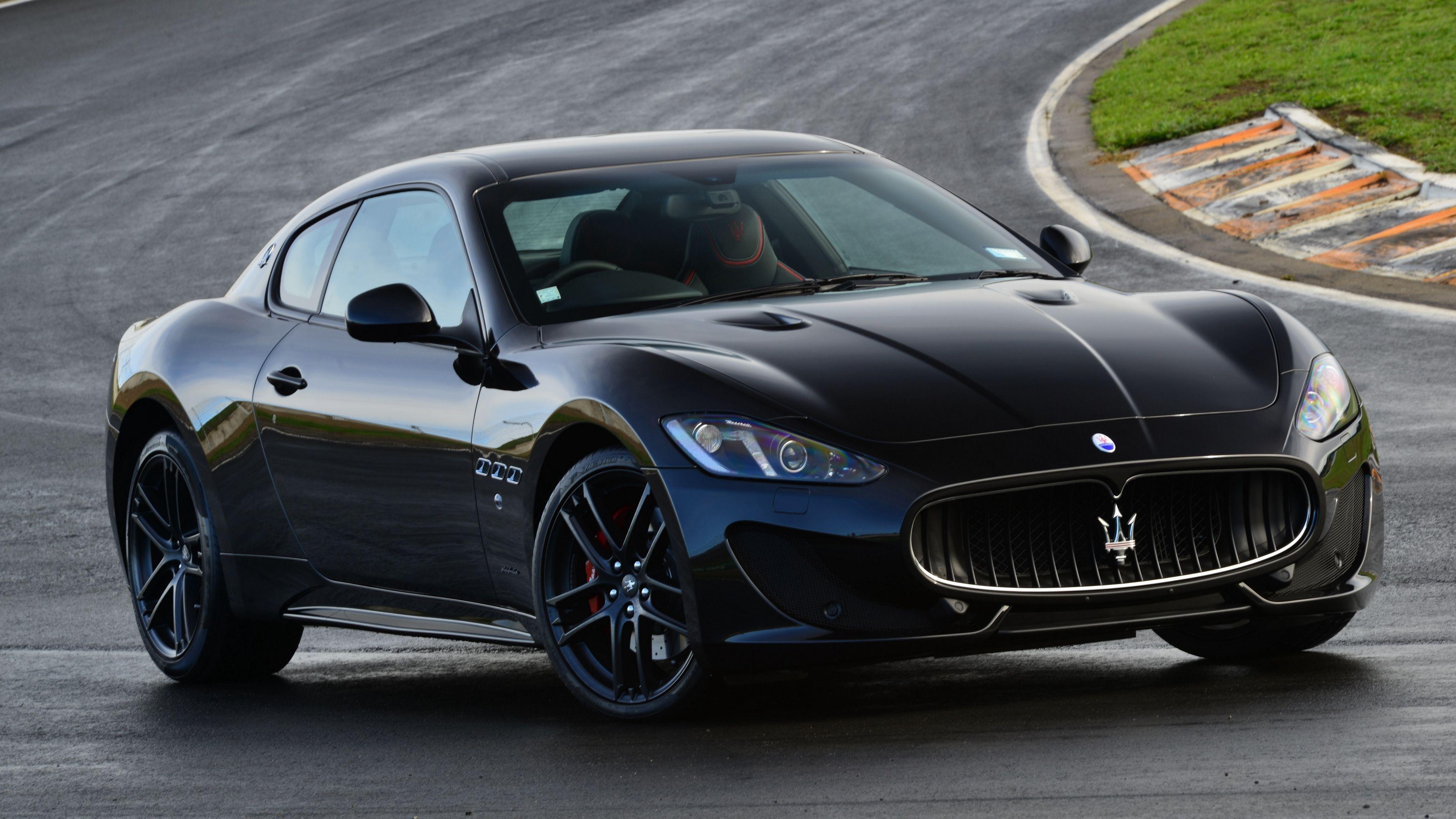Maserati Granturismo Mc Sportline Side View Black 4k Mc Sportline Maserati Granturismo Maserati Granturismo Maserati Super Luxury Cars