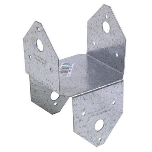 EACH Contains 40 per case Simpson Strong-Tie 4X4 Zmax Post Cap Base BC4Z Unit