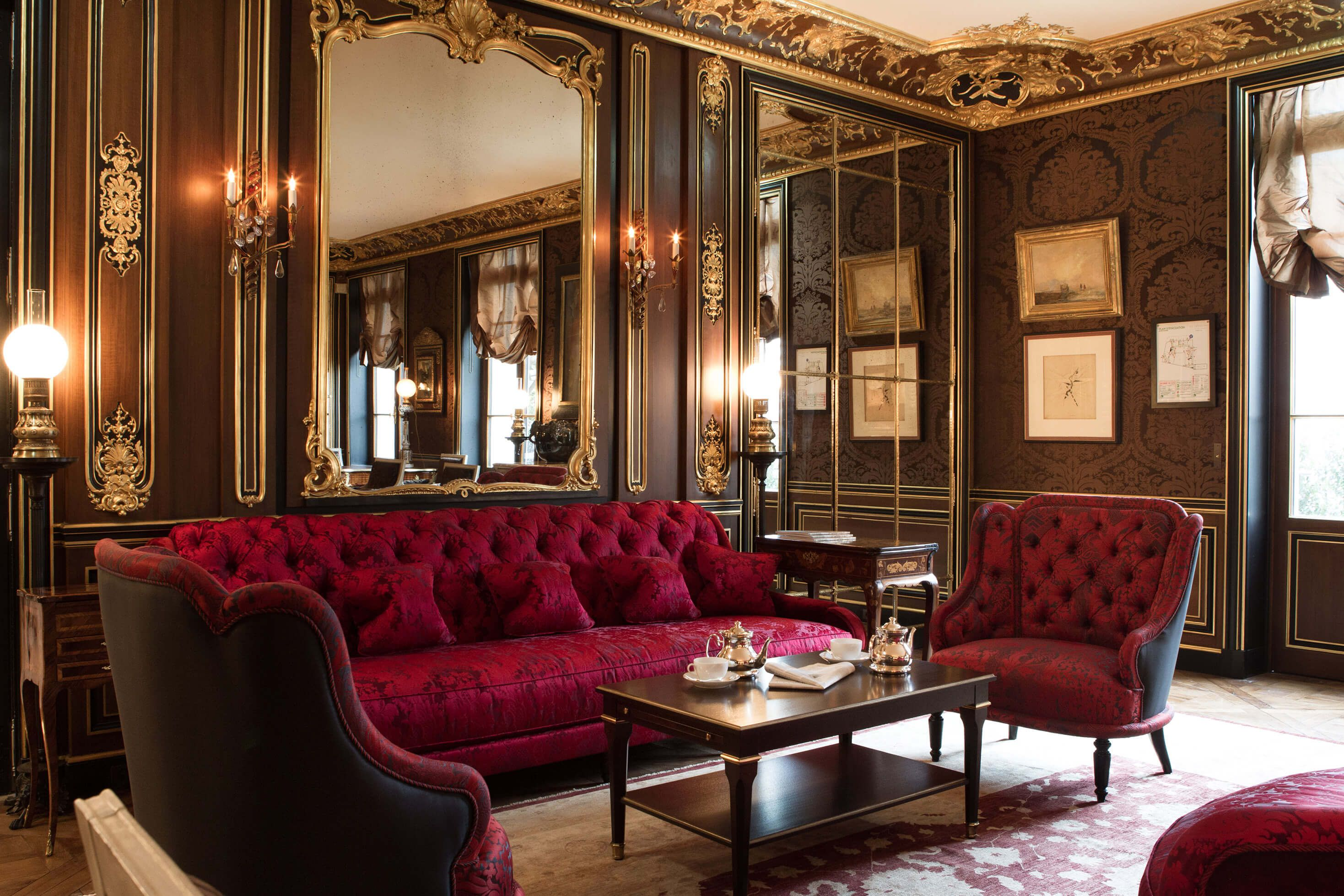 La Reserve paris Luxury homes interior, Contemporary