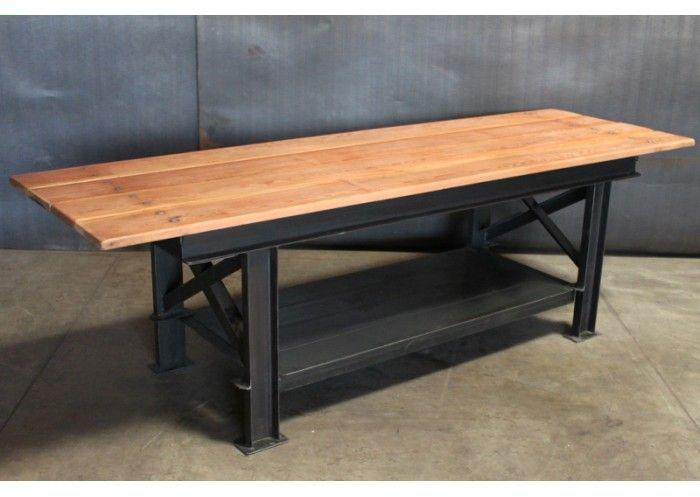 desk idea - C-CHANNEL TABLE