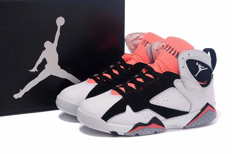 Air-Jordan-7-GS-White-Black-Hot-Lava-