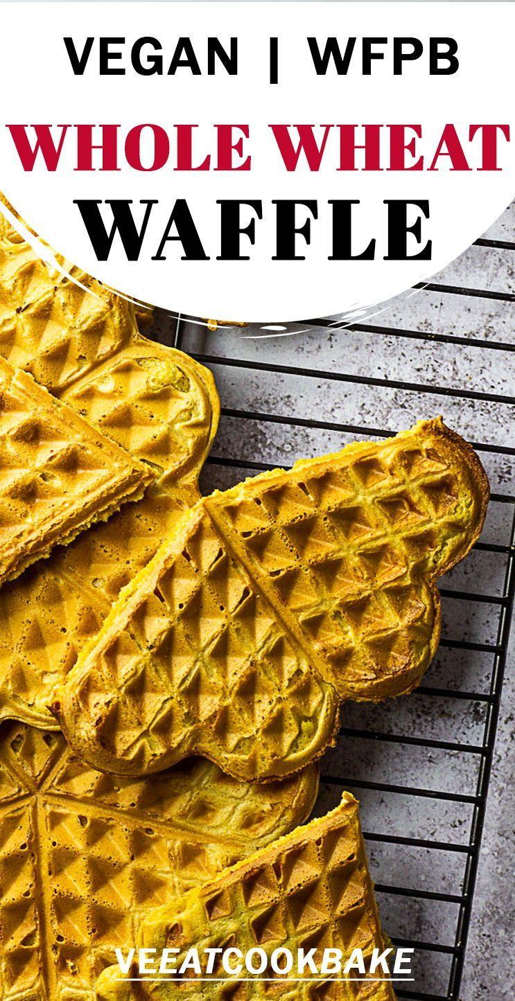 Best Vegan Waffle Oil Free Sugar Free In 2020 Vegan Snack Recipes Vegan Recipes Easy Vegan Waffles