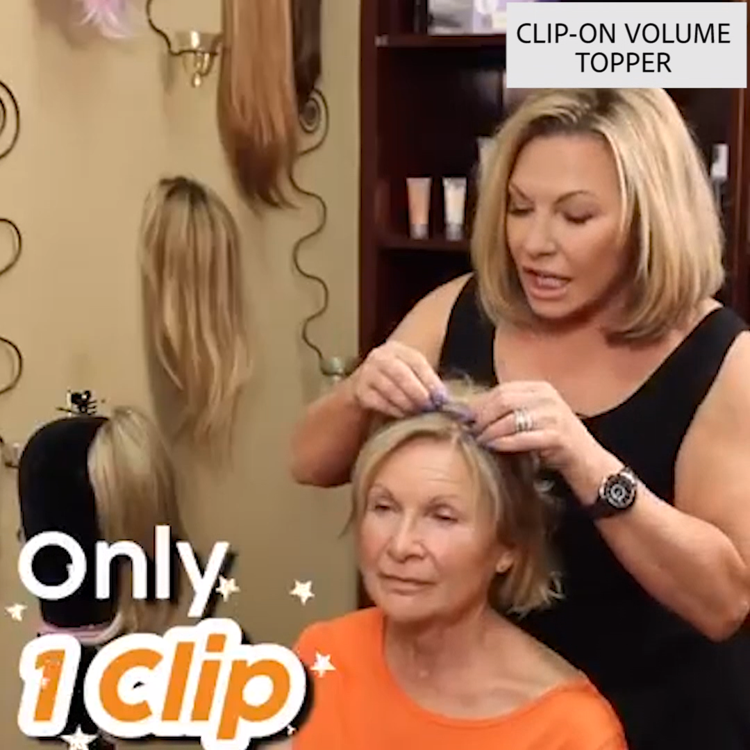 One-Clip Volume Topper