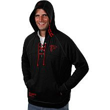 Men's Pro Line Atlanta Falcons Big & Tall Rugged Aviator Hooded Sweatshirt - NFLShop.com