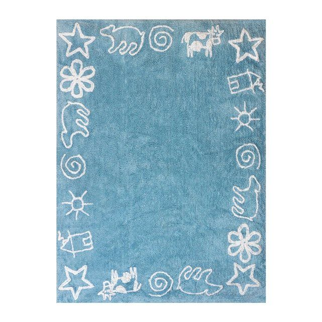 Tapis Enfant Coton Prairie Cotton Rugs Pastel Colors And Nursery