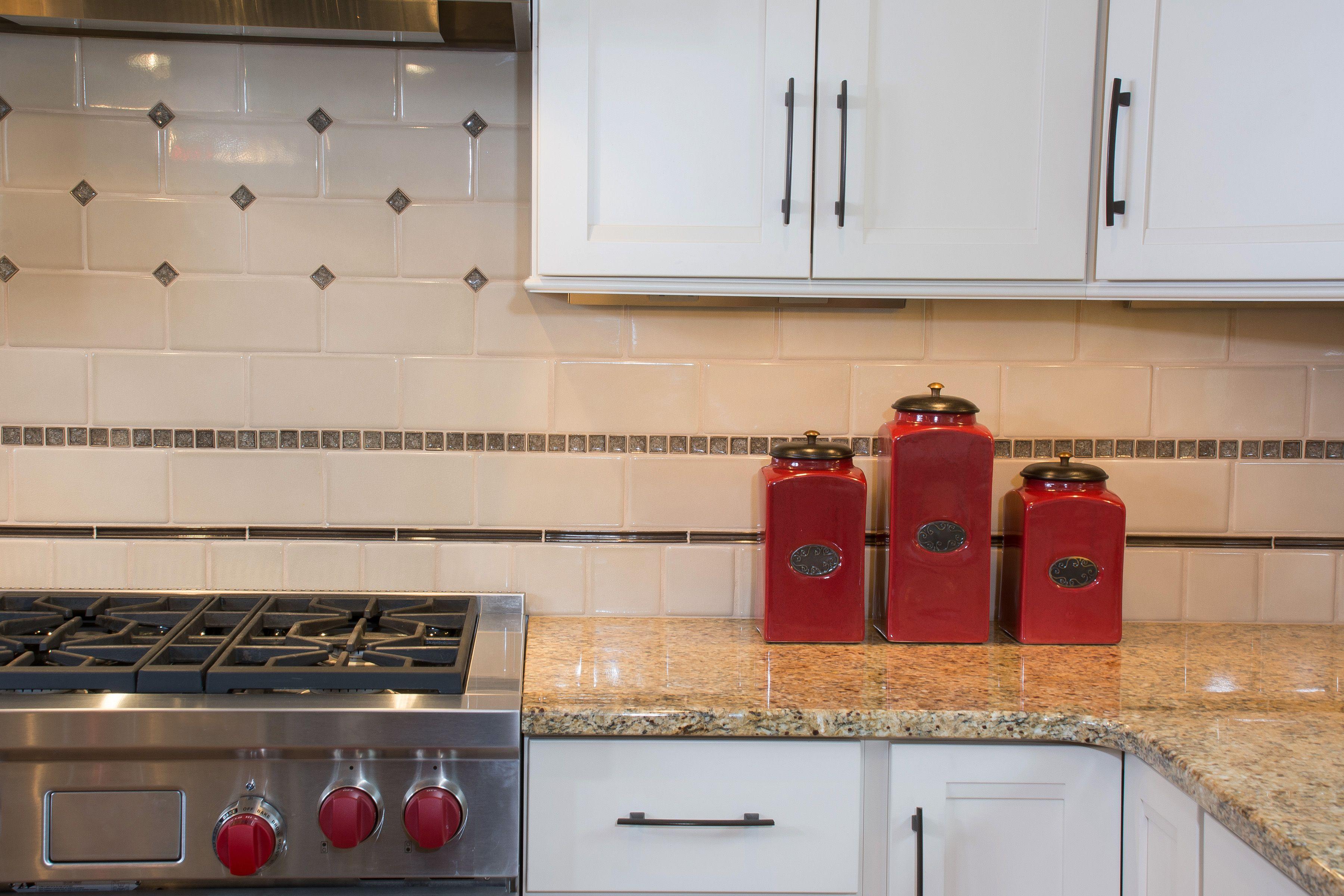 Sonoma Tile Makers Backsplash Detail Part Of A Kitchen Remodel