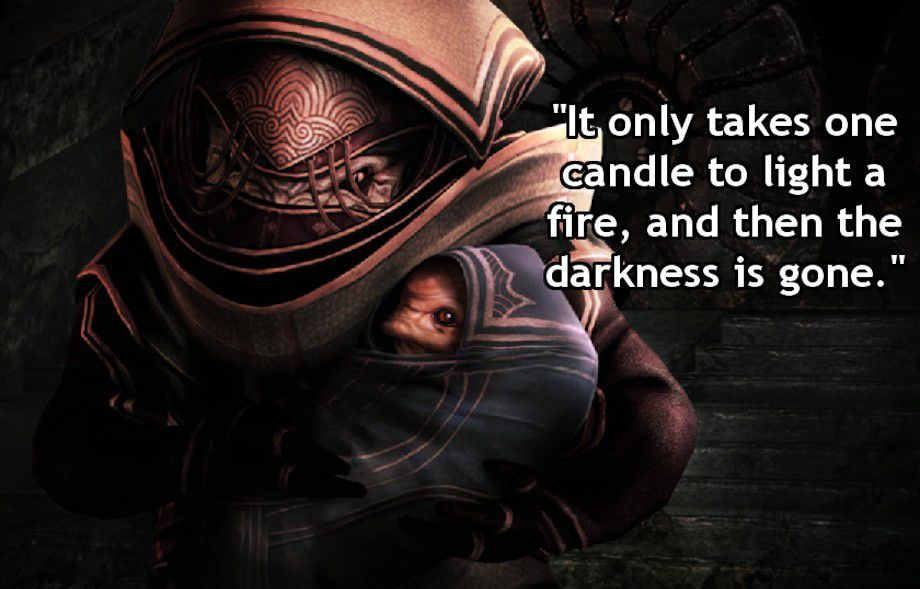 There Are Some Good Quotes Behind Those Pixels 29 Hq Photos Mass Effect Quotes Gamer Quotes Mass Effect
