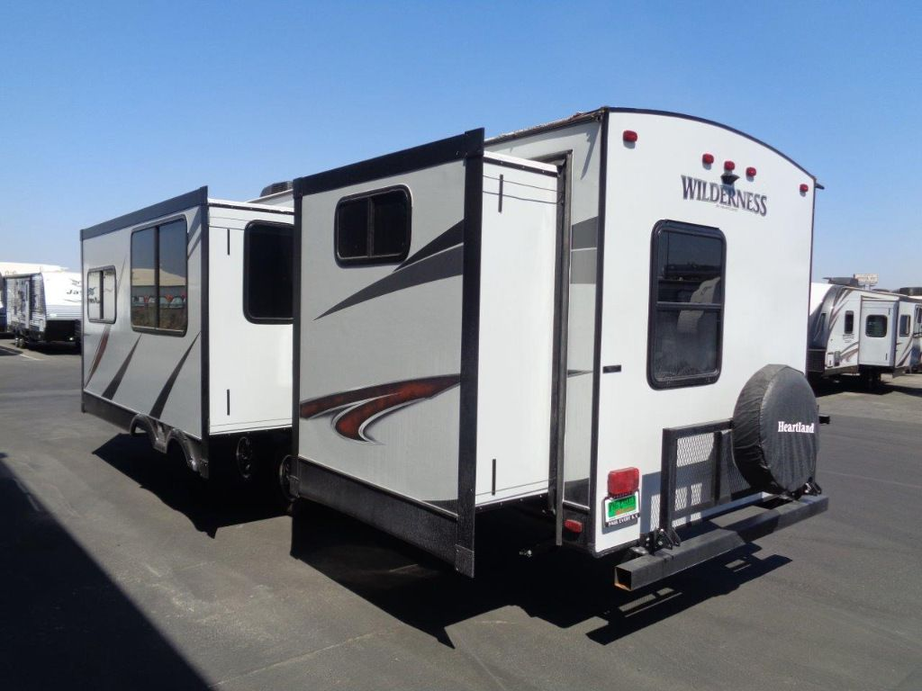 New 2018 Heartland Wilderness 3150ds Travel Trailer At Rv Country