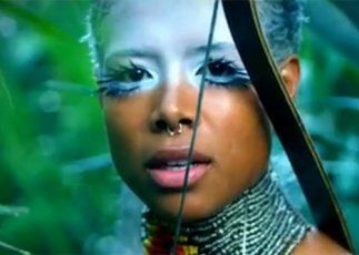 """""""I know a 'face' where the wild thyme blows, Where oxlips and the nodding violet grows, Quite over-canopied with luscious woodbine, With sweet musk-roses and with eglantine."""" William Shakespeare, A Midsummer Night's Dream  } Kelis - afrofuturism inspired"""