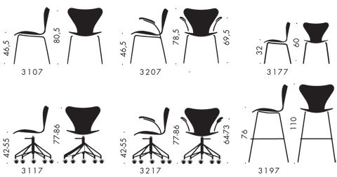 The Series 7 Chair Was Designed By Arne Jacobsen Arne Jacobsen