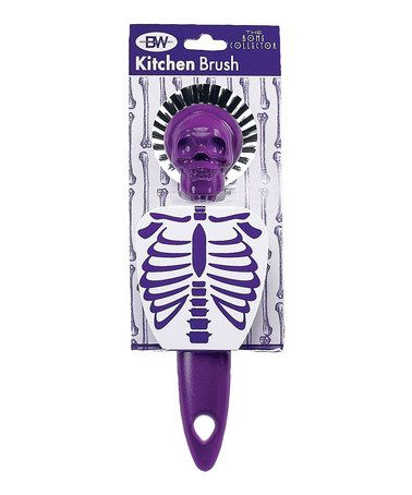 Another great find on #zulily! Purple Bone Collector Kitchen Brush #zulilyfinds