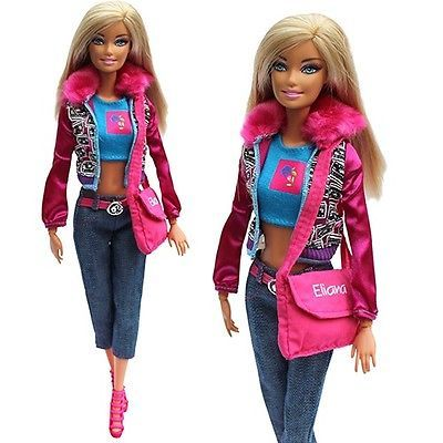 #Evening #wedding party clothes casual dress outfit set for #barbie doll xmas gif,  View more on the LINK: http://www.zeppy.io/product/gb/2/151491367424/