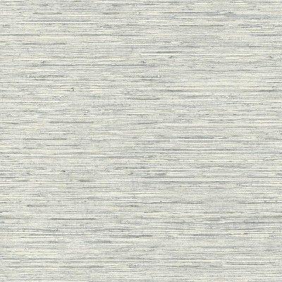 Roommates Grasscloth Peel Stick Wallpaper Gray In 2021 Grasscloth Wallpaper Grasscloth Peel And Stick Wallpaper
