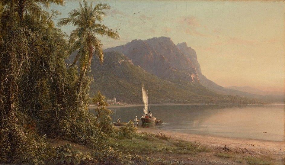 Frederic Edwin Church American 1826 1900 Jamaica 1871 With