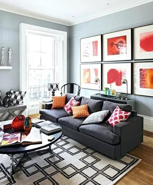 23 Cool L Shaped Living Dining Room Design Ideas Jueliana Korean World Living Room Grey Living Room Color Schemes Living Room Color