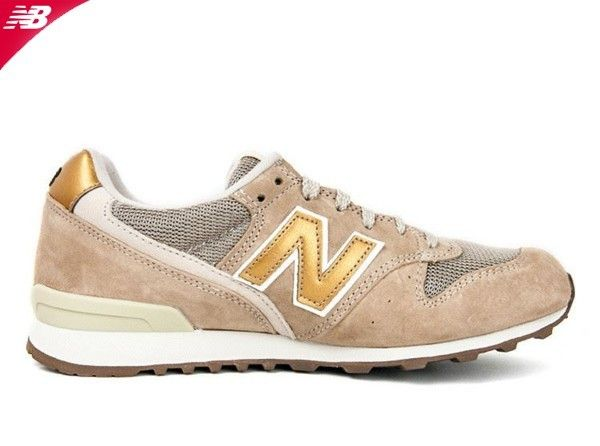 New Balance 996 Damen Leder Retros Sand Trainer