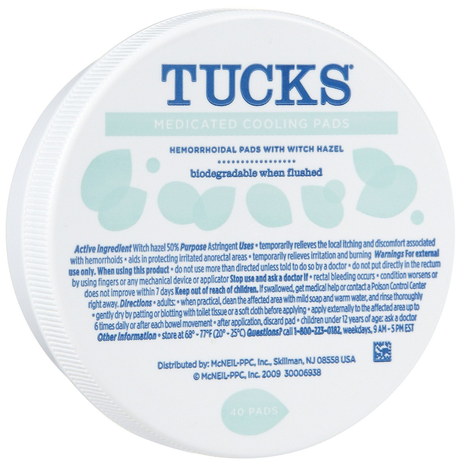 Tucks hemorrhoidal pads with witch hazel best price poo