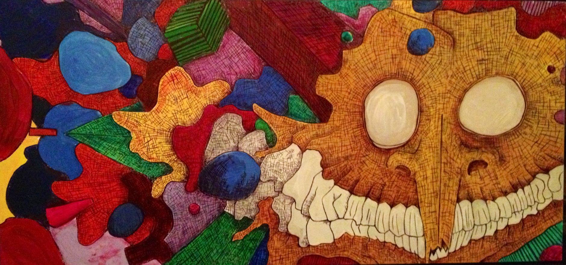 Richie Steenken ; psychedelic art