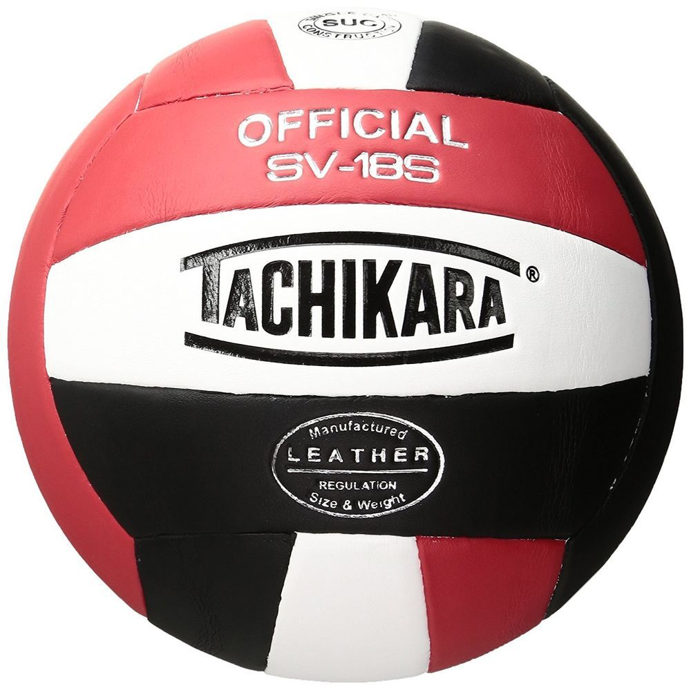 Tachikara Composite Leather Volleyball Institutional Quality Royal White Black Tachikara Indoor Volleyball Volleyball Olympia Sport