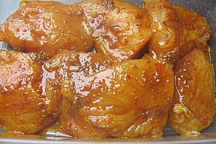 Scharfe Curry - Marinade #marinadesauce