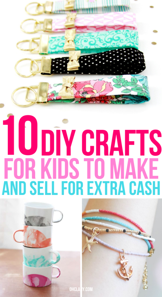 10 Crafts For Kids To Sell For Profit That Are Super Easy To Do