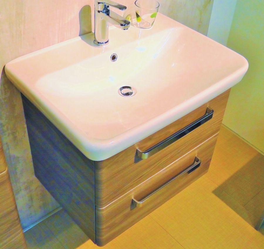 Pelipal Pineo 65 cm Waschtisch-Unterschrank 2 Auszüge Badezimmer