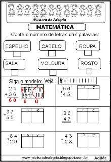 Matematica Atividades De Matematica Atividades De Matematica
