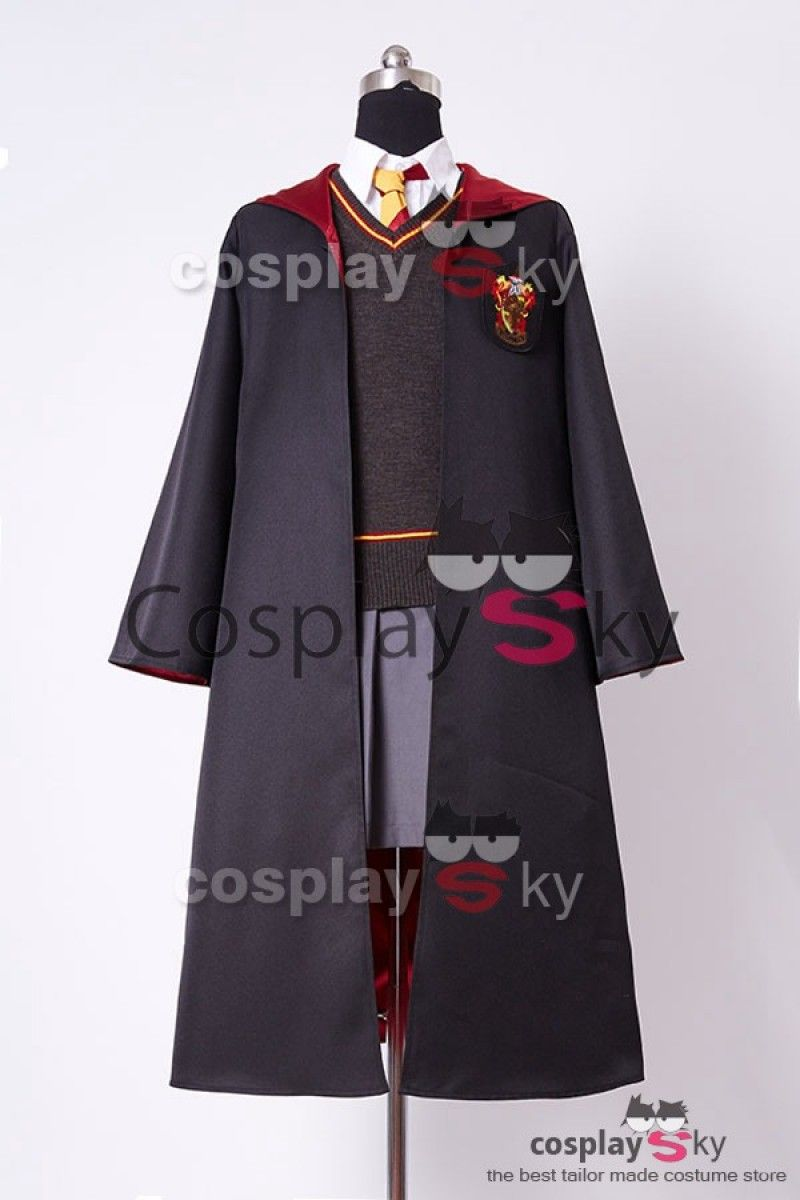 Harry Potter Gryffindor Uniform Hermione Granger Cosplay Costume Adults Ver. 56fd8a162e97
