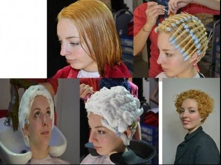 Pin by Zig Zag on Ready for the Perm Solution  Dauerwelle