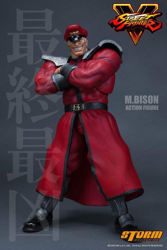 Storm Collectibles M Bison Street Fighter V Figuras Imagens