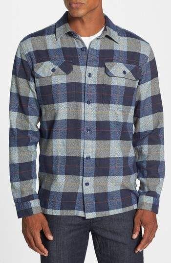9e3b697e2418 Patagonia  Fjord  Regular Fit Organic Cotton Flannel Shirt ...