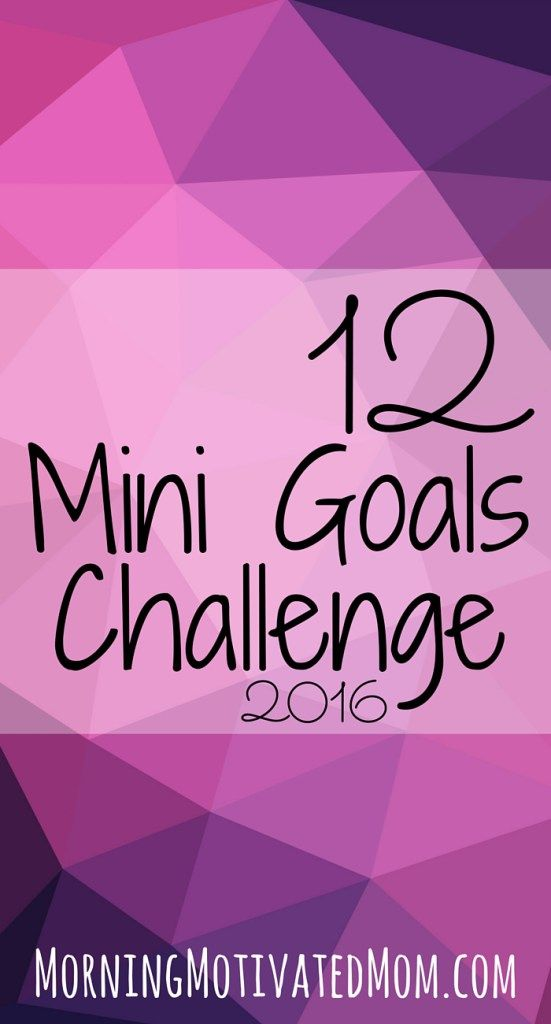 I doubt that I'll sign up and follow this officially, but my strategy for this year is similar-- to make small changes until they become habits. My first, to get to bed at a reasonable hour (by 10:30) on work nights is underway!  12 Mini Goals Challenge.