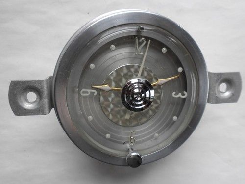 1956 Packard Clock - Serviced and Working with a 30 Day Guarantee + FREE Shipping!!! - $89.88