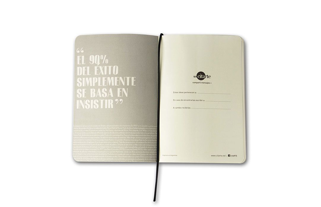 CITARTE Objetos de diseño con reflexiones y pensamientos que hacen bien recordar. http://charliechoices.com/citarte/