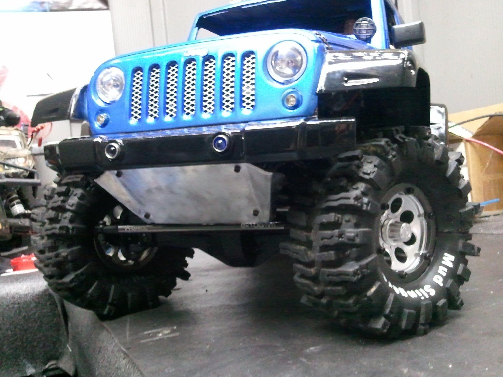 Update Jeep Wrangler JK 4door 4X4 Build Axial SCX10 RC4WD 2 2 mud