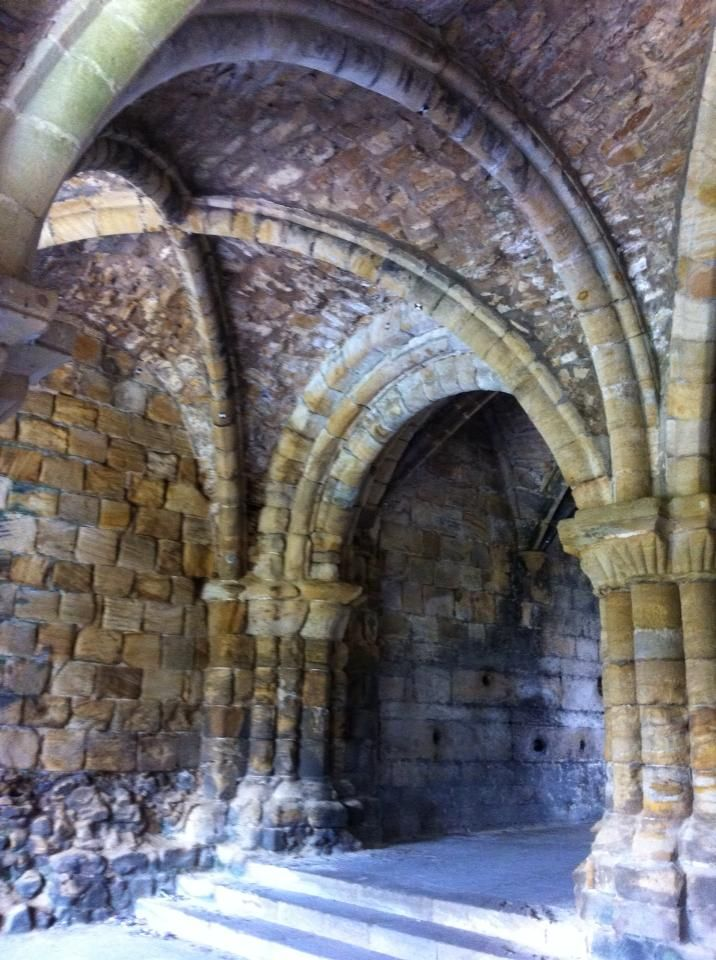 Vaulting Kirkstall Abbey