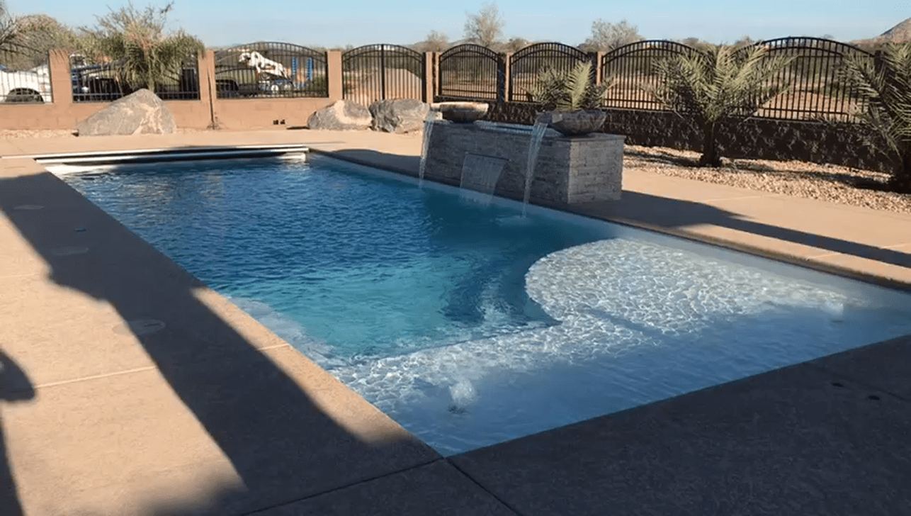 30 Admirable Small Swimming Pool Designs Ideas Sweetyhomee Swimming Pool Designs Pool Landscaping Pool Waterfall