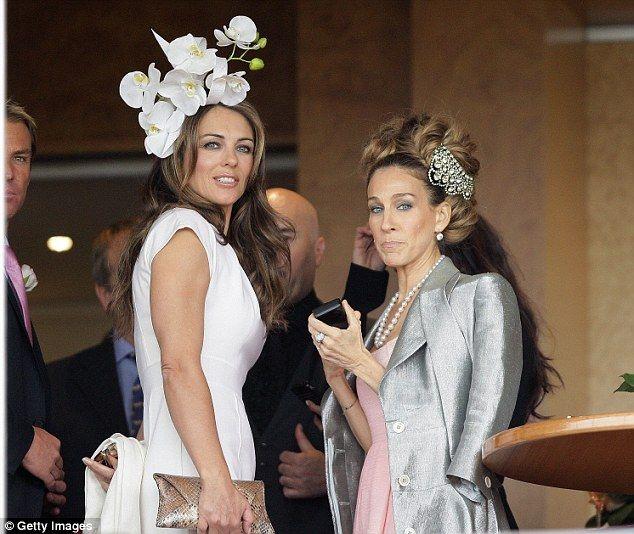 Liz Hurley and Sarah Jessica Parker
