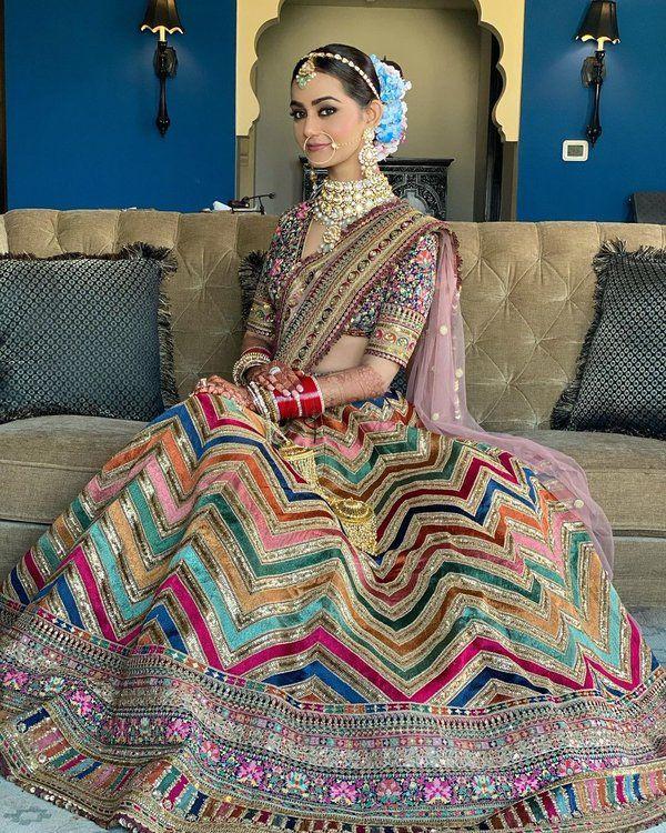 What To Wear When: Wedding Lehenga vs Wedding Sare