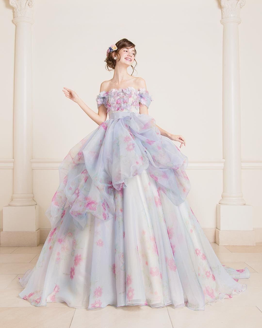 kiyoko_hata さんとコラボしたmarryドレス お気に入りの柄