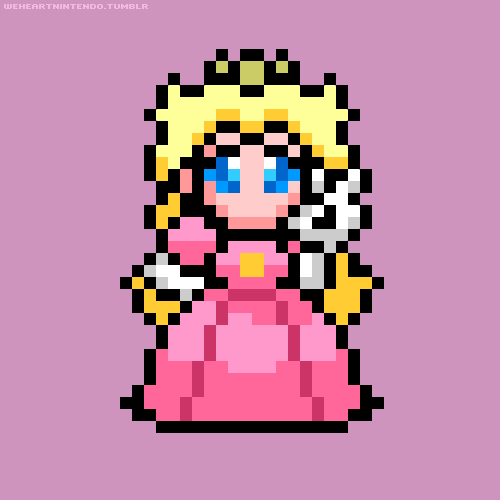 Pixelated Princess