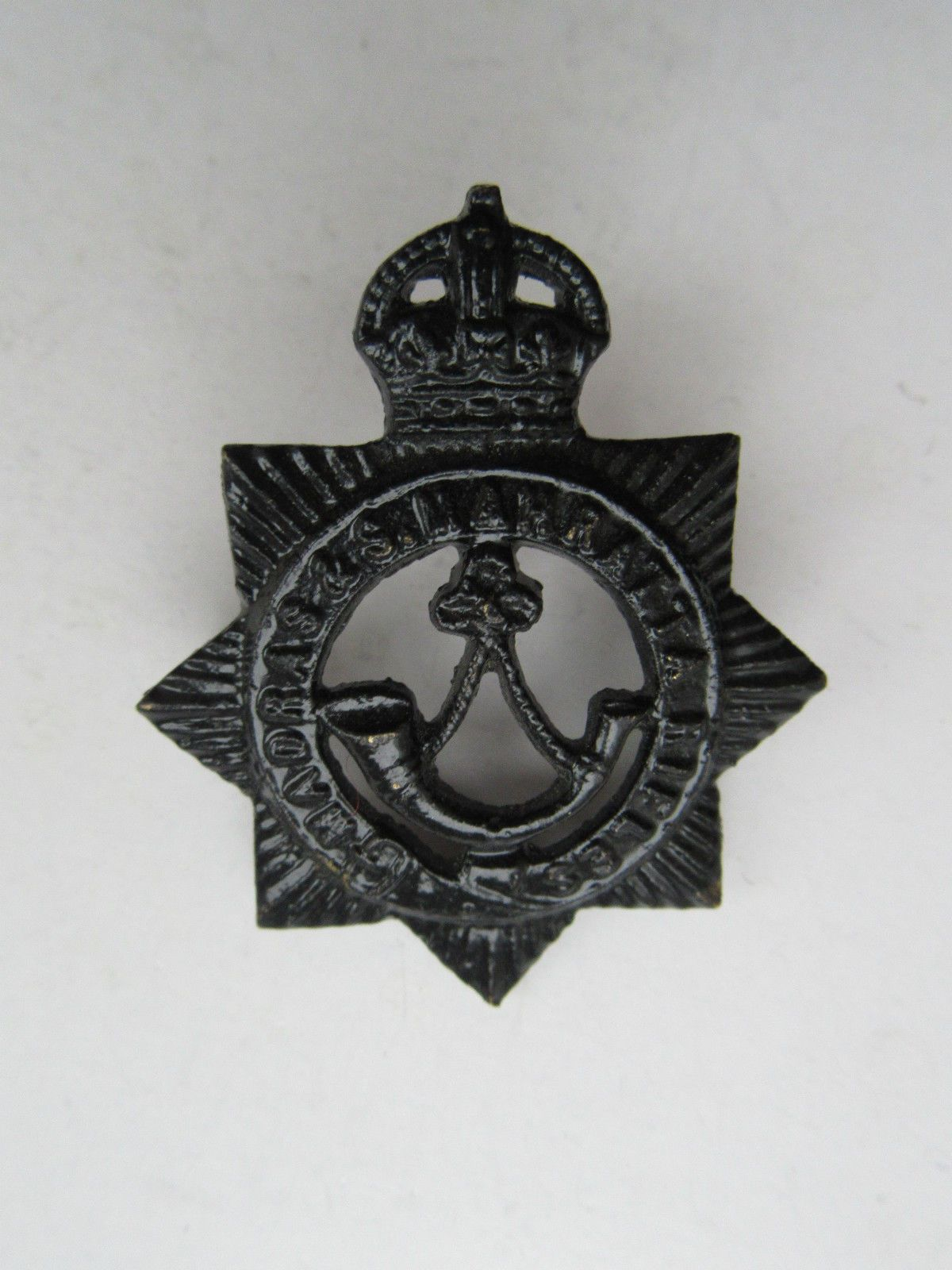 Madras and Southern Mahratta Indian Army Cap Badge in Collectables, Badges/ Patches, Military Badges   eBay