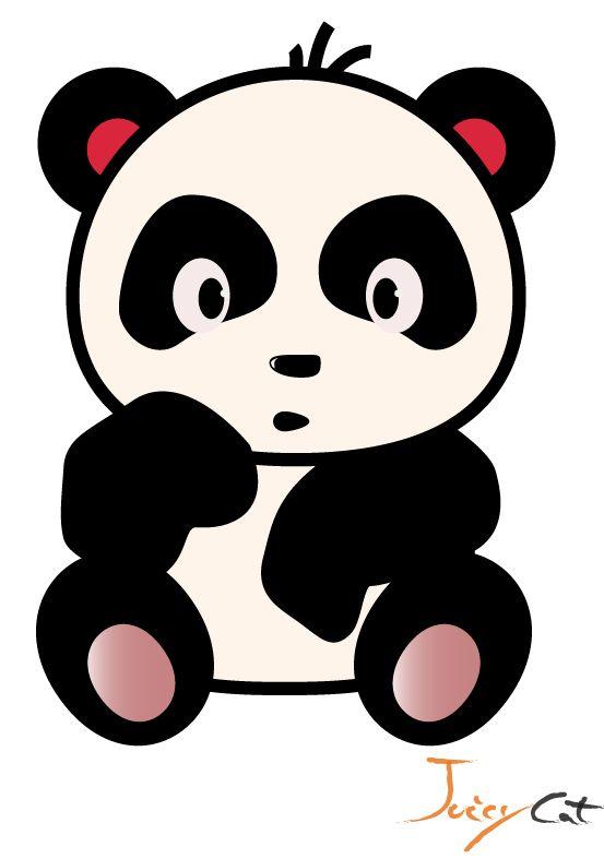 Pin By Cristina Rodriguez On Panda Panda Illustration Cartoon Panda Panda Images