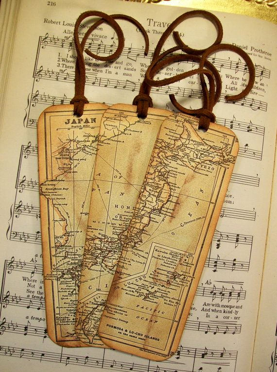 Japan map bookmarks historical japan circa 1912 set of 3 gifts for japan map bookmarks historical japan circa 1912 set of 3 gifts for men map bookmark gifts for him map collectors map lovers gumiabroncs Gallery