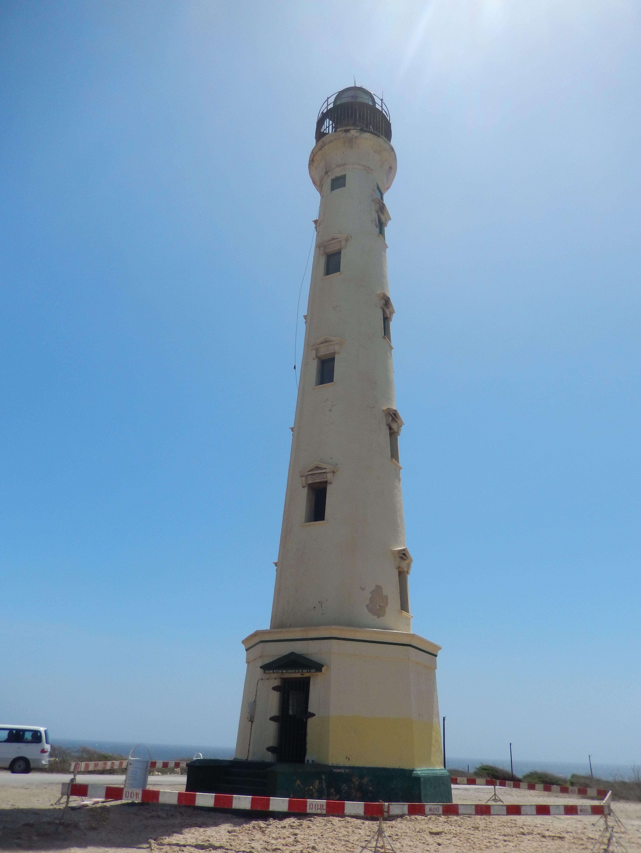 Een van de bezienswaardigheden op Aruba.