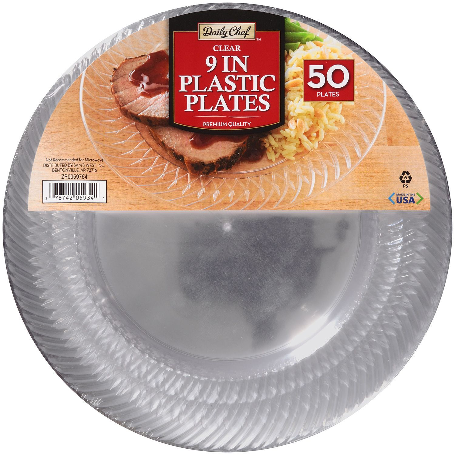 Daily Chef Clear 9  Plastic Plates (50 ct.) - Samu0027s Club  sc 1 st  Pinterest & Daily Chef Clear 9