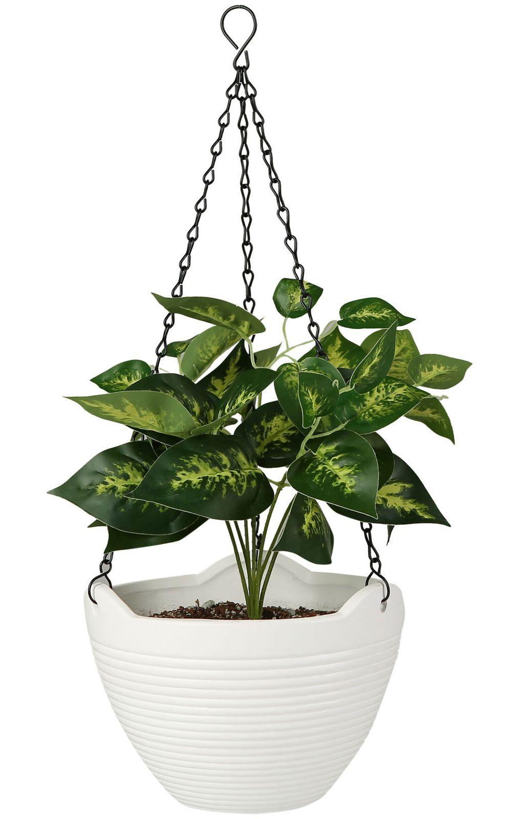Inch Ceramic Hanging Flower Planter Pot