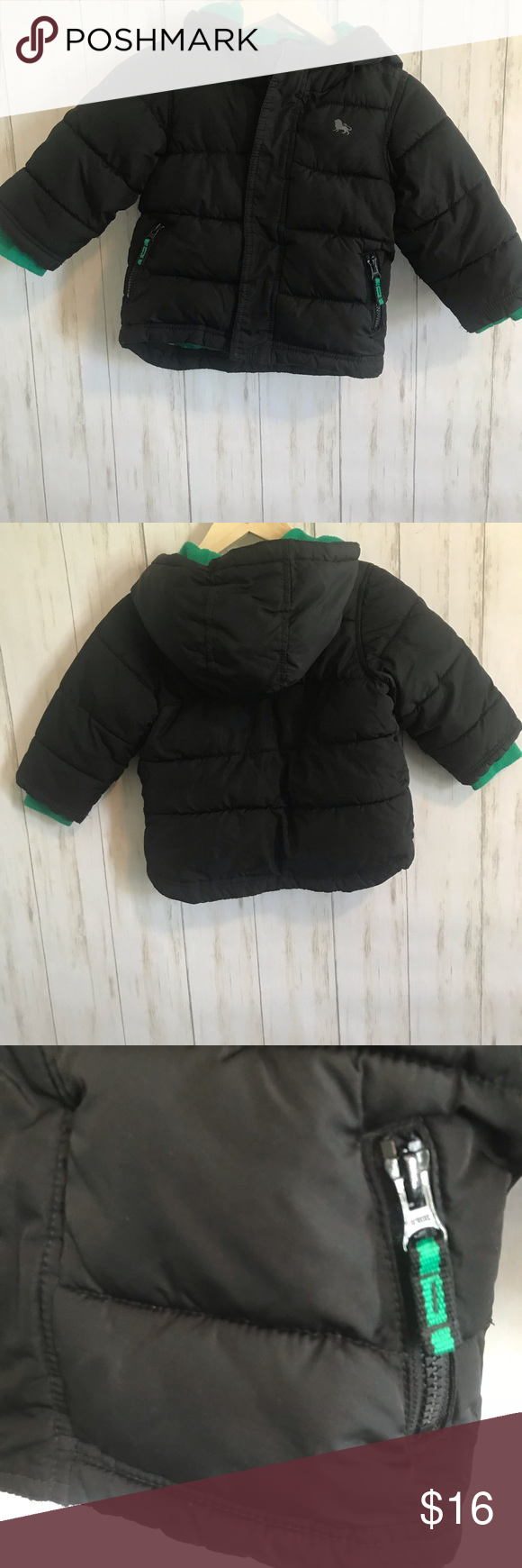 6889e533d Baby boy old navy puffer jacket size 18-24 Months