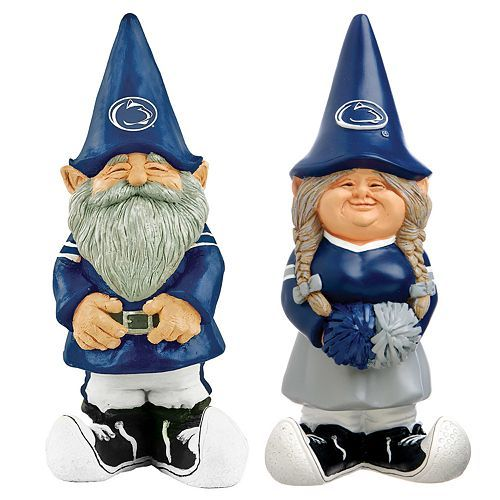 Nittany Apartments: Penn State Nittany Lions Garden Gnomes $24.99